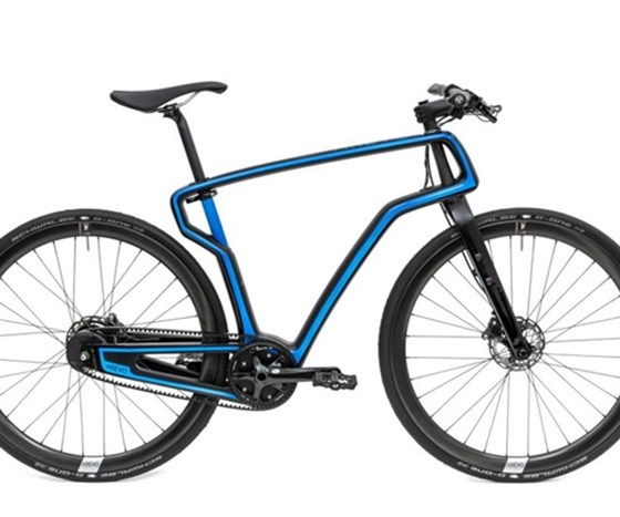 Avero 3D-printed commuter bike
