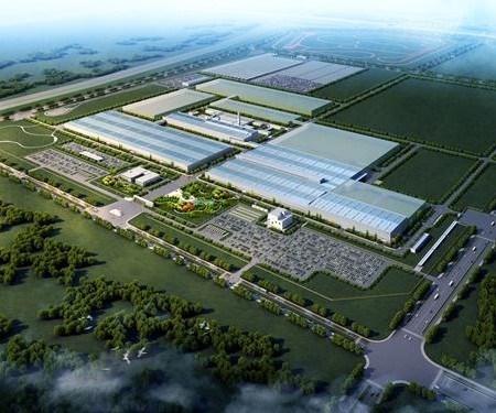 BAIC manufacturing facility