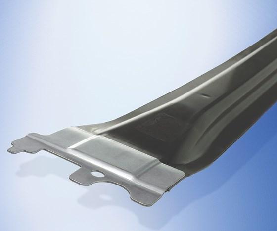 hybrid composite-metal automotive parts