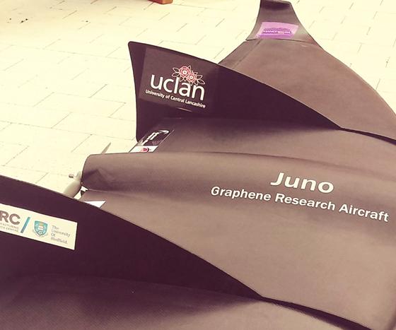 Juno graphene aircraft