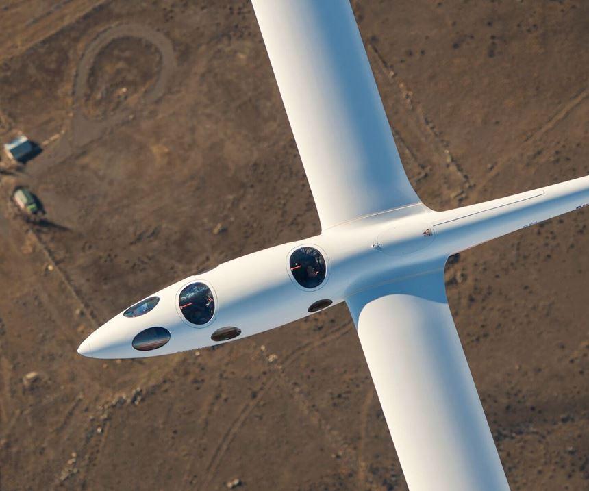 Perlan space glider