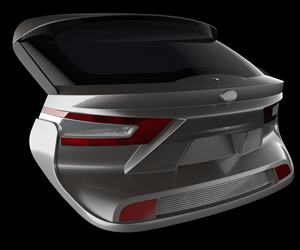thermoplastic composite liftgate
