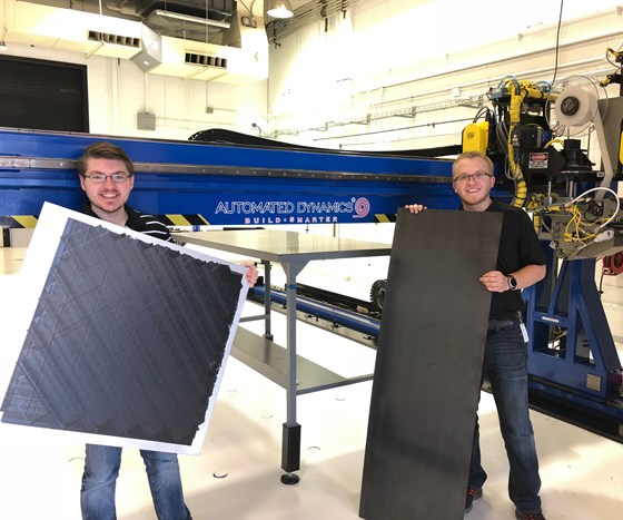 automated composite panel