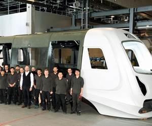 CFRP rail vehicle