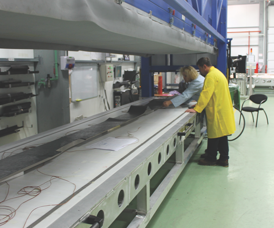 Hot drape-forming machines