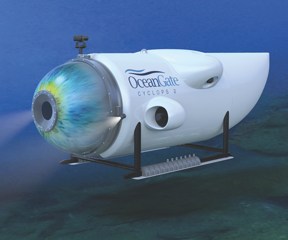 composite submersible