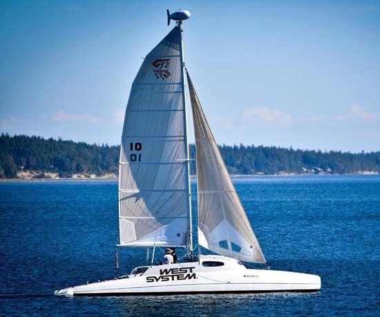 Gougeon G32 catamaran
