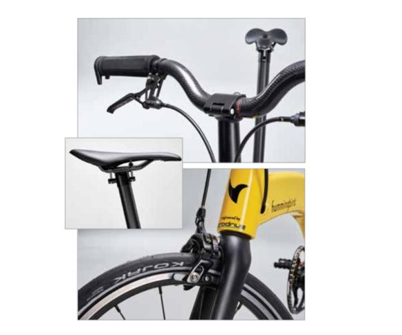Hummingbird carbon fiber bike