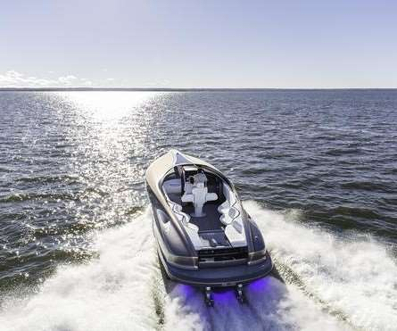Lexus carbon fiber sports yacht