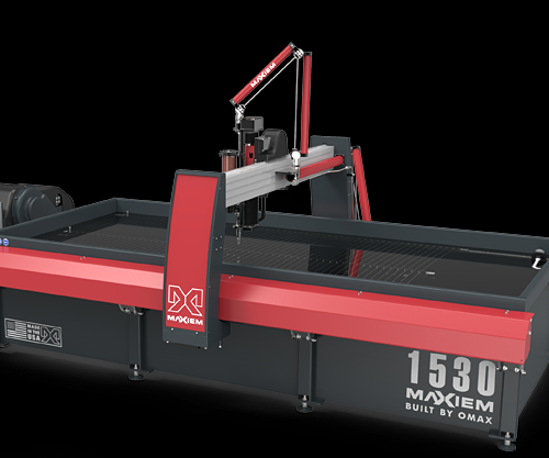 OMAX waterjet brings success to one-man machine shop