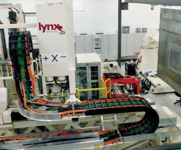 Lynx automated fiber placement (AFP) equipment