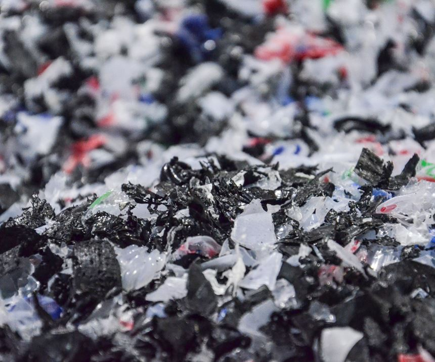 shredded plastic