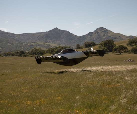 The BlackFly personal air vehicle from Opener