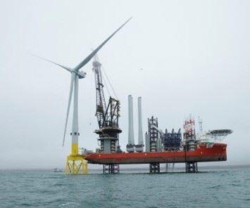V164 wind turbine, wind energy