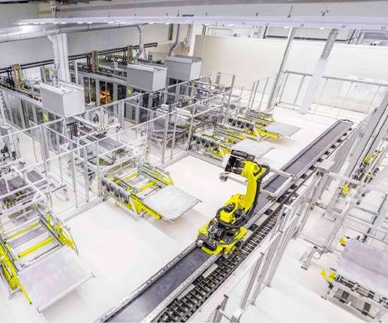 Voith carbon fiber production line
