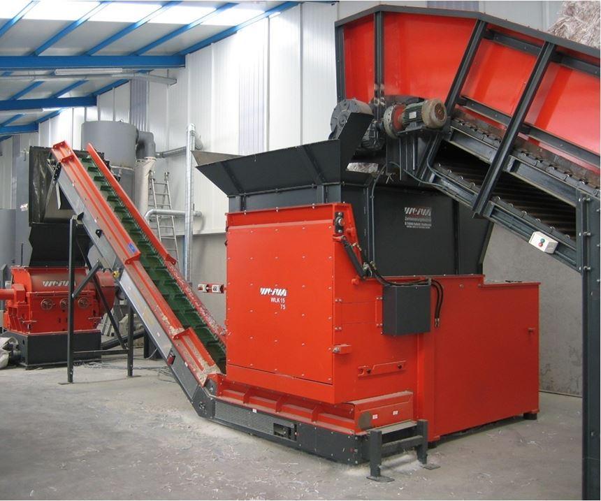 WLK 15 shredder