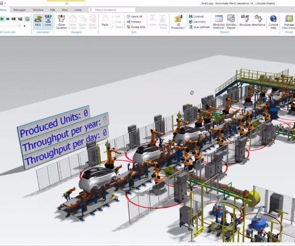 Uniti simulates a production line for its Uniti One model