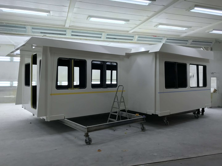 Holland Composites facility in Lelystad, Netherlands