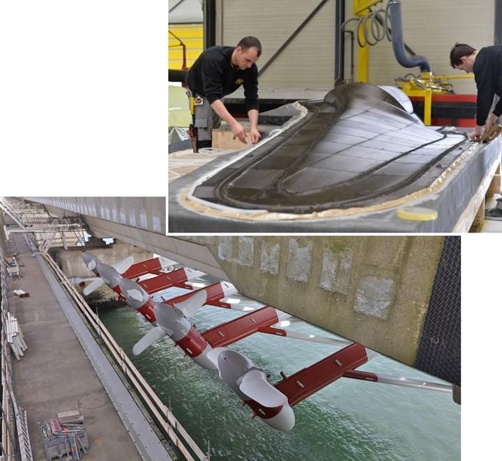 Holland Composites produces CFRP tidal turbine blades
