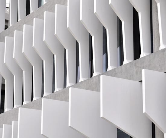 BBVA headquarters use composite sun panels made with Scott Bader Crestapol 1212 resin