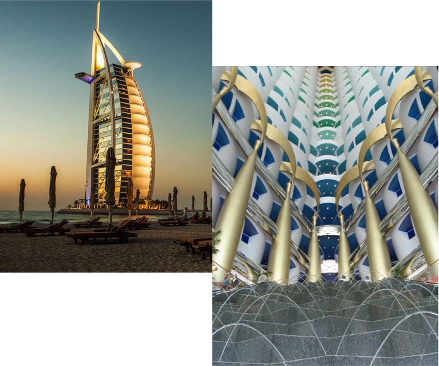 Burj Al Arab hotel uses Scott Bader Crystic 329 resin