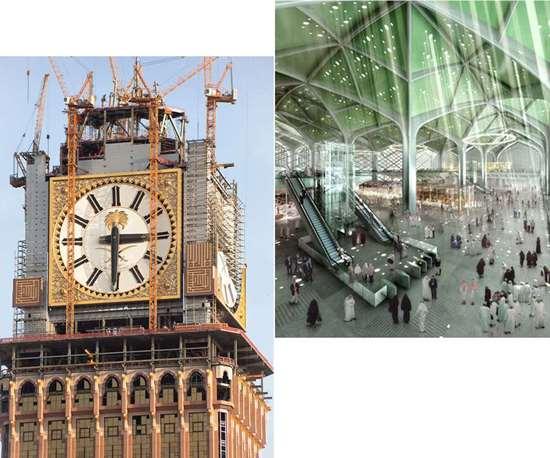 Makkah clock tower and Haramain High Speed railway stations use Scott Bader FIREGUARD gelcoat
