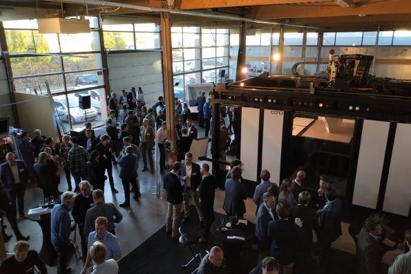 CFAM Prime machine launch at CEAD in 2018