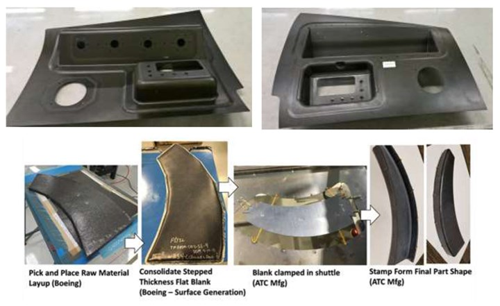 DARPA TFF program RAPM subprogram rapid molding demonstration parts
