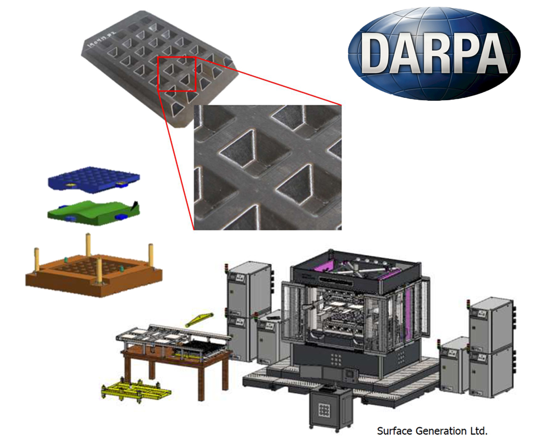 DARPA Tailorable Feedstock and Forming project for affordable composites
