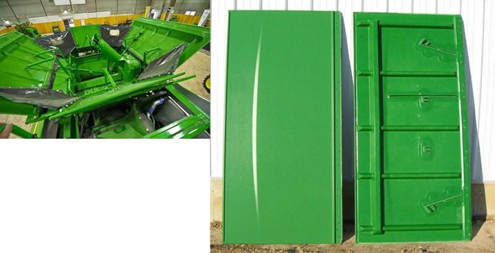 Plastics Unlimited grain tank extender panels made using TEC process