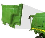 Plastics Unlimited part for John Deere using Tool-less Engineered Composite process