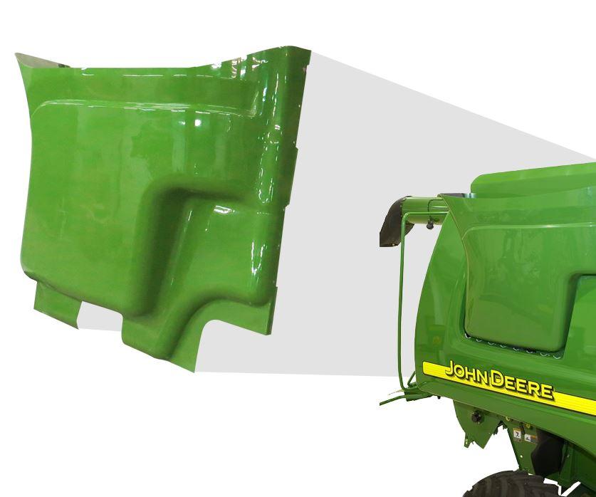 Plastics Unlimited part for John Deere using Tool-less Engineered Composite process