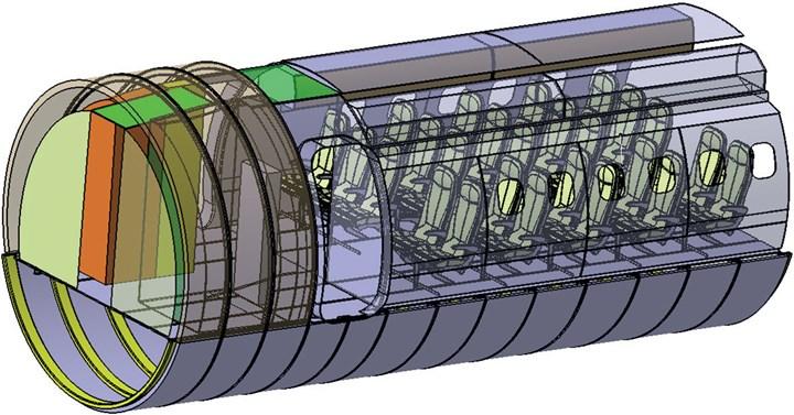 Clean Sky 2 Composite Fuselage project
