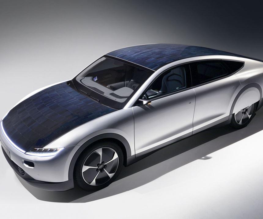 Prototypowy samochód solarny Lightyear One