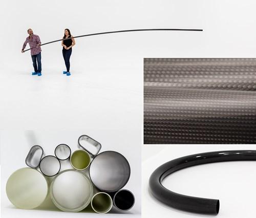 Disruptive composite tubing manufacturing