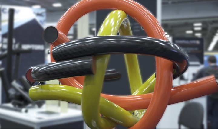 TUBETEC Composites exhibit at CAMX 2018