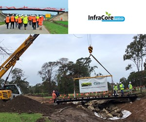 SIS and FiberCore Europe partner to build FRP bridges in Australia