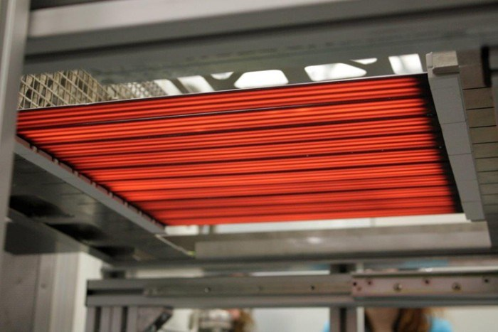 Heraeus Noblelight black.infrared system for composites manufacturing