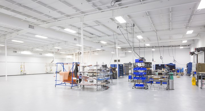 Veelo Technologies heat blanket production in Woodlawn facility