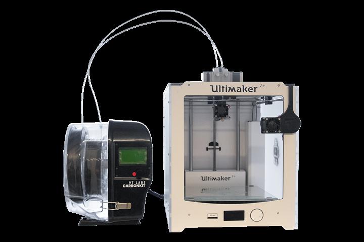 9T实验室有限发布的产品CarbonKit支持连续碳纤维3D打印