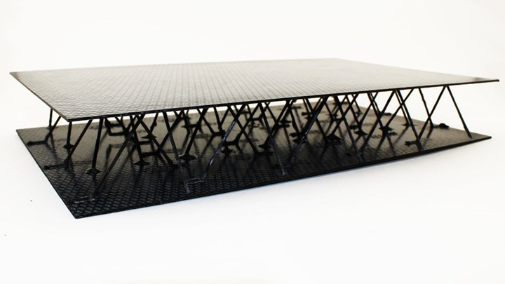 Carbon Factory project at ETH Zurich for 3D printing CFRP lattice structures
