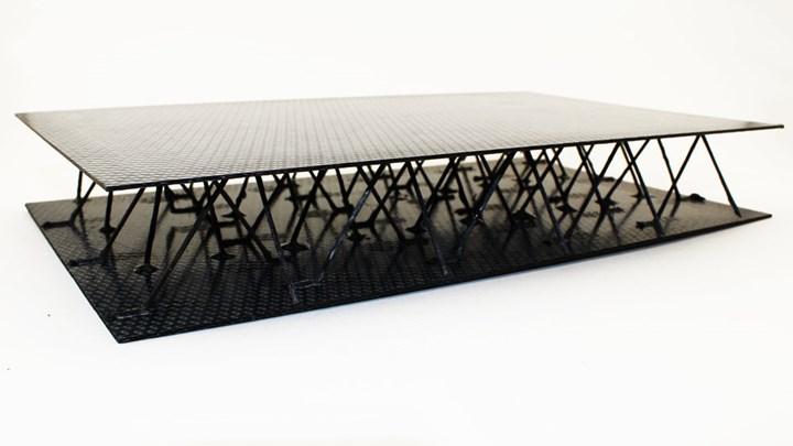 苏黎世联邦理工学院的碳工厂项目,用于3D打印CFRP网格结构
