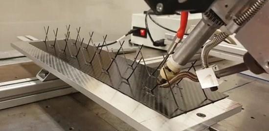 苏黎世联邦理工学院的碳工厂项目,用于印刷CFRP网格结构