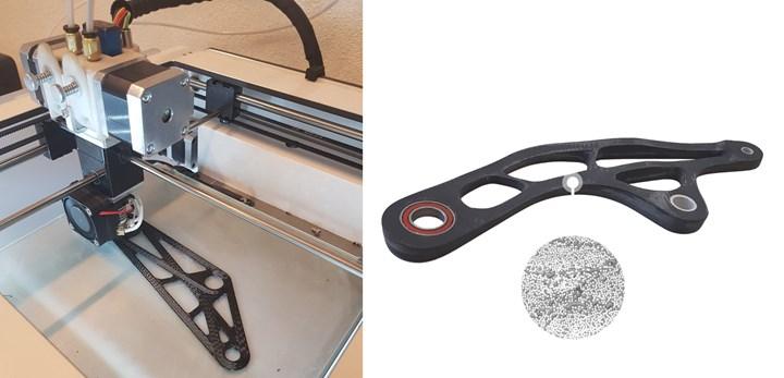 9T Labs Red系列3D打印机达到50%的纤维体积和1%的空隙