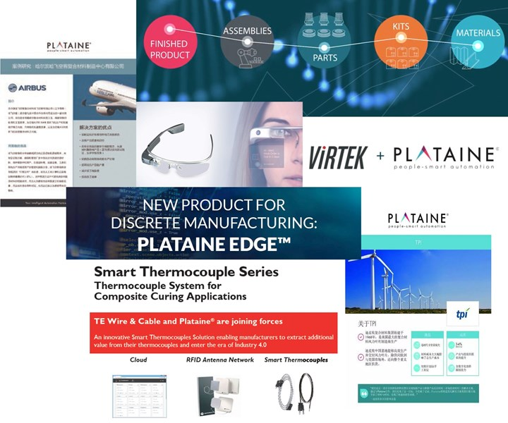 Plataine software for Composites 4.0 production