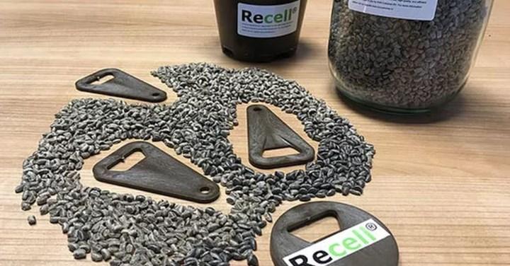 KNN Cellulose Recell biocomposite