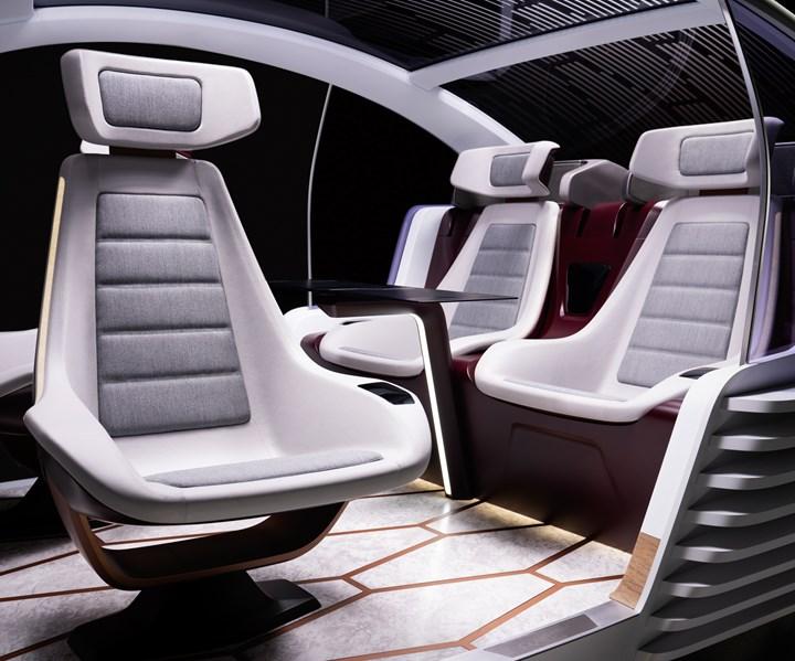 Covestro Maezio continuous carbon fiber thermoplastic composites for future mobility interiors