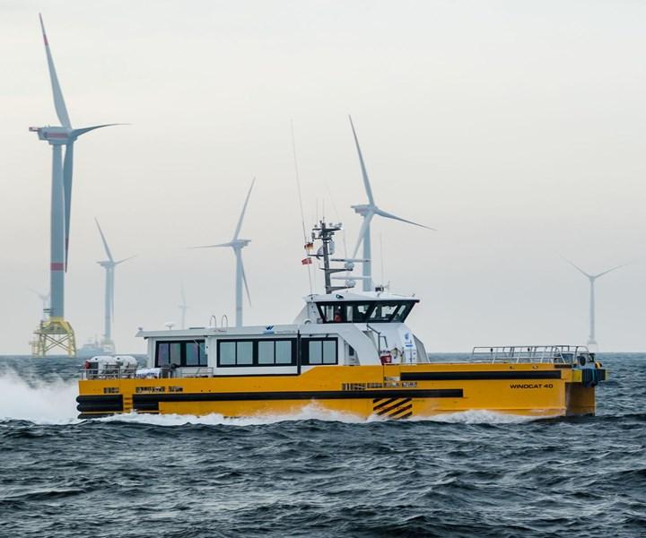 Holland Composites build composite deckhouses for Windcat Workboats