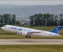 MS-21 completes third flight test for EASA certification