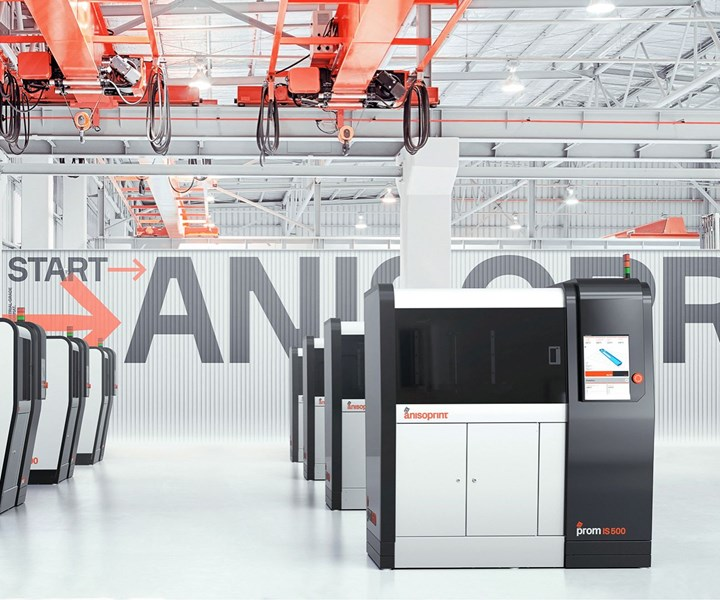 Anisoprint ProM IS 500 continuous fiber reinforced high temperature plastic 3D printer